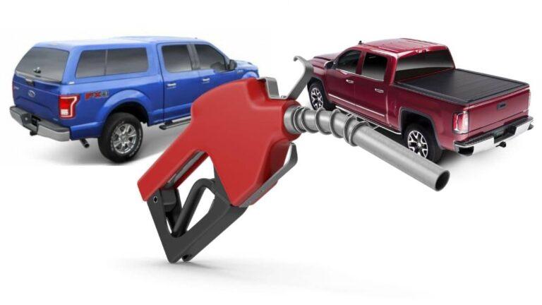Tonneau VS Cap Gas Mileage
